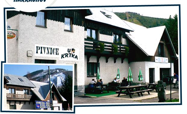 Pivnice a Ubytování u Krtka v Harrachově